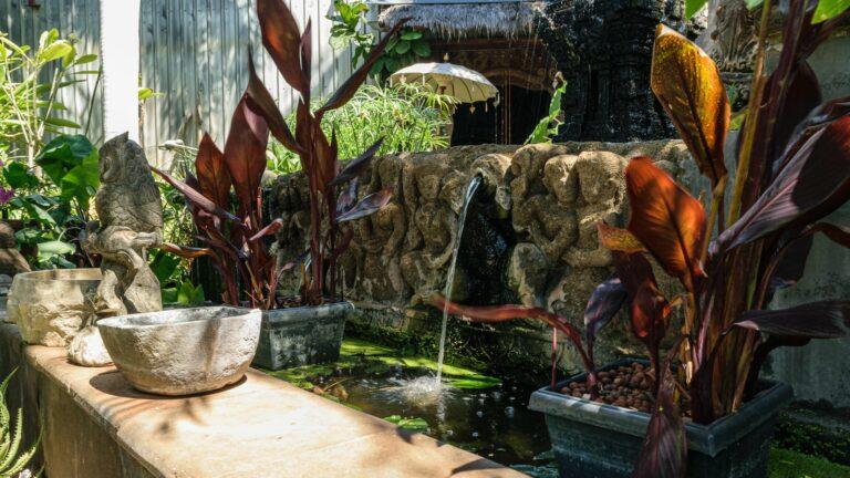Outdoor garden water features | Stonerage Broome